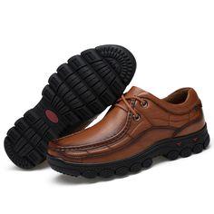 timeless design 21326 46edb 61.06 30% de DESCUENTO Aliexpress.com  Comprar Los hombres zapatos de  trabajo británico de 100% casuales de negocios de cuero genuino zapatos de  charol ...
