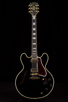 gibson - es355 ltd edition. black.