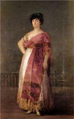 La Tirana Oil on canvas, 1799 81 x 51 inches x 130 cm) by Francisco Goya Francisco Goya, Spanish Painters, Spanish Artists, Goya Paintings, Google Art Project, European Paintings, Aragon, Art Google, Great Artists