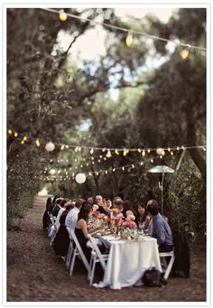 outdoor party VINTAGE