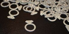Bling+Diamond+Engagement+Ring+CONFETTI+for+your+by+PartyMadePretty,+$8.00
