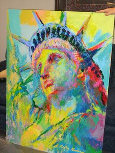 Original Portrait of Liberty | LeRoy Neiman #leroyneiman