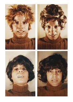 Ana Mendieta, Untitled (Facial Cosmetic Variations), 1972.