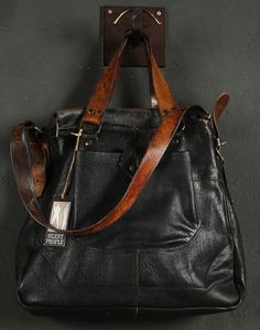 "A collection of vintage ""historical"" bags. Made by Silent People."