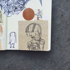 Sketchbook by Will Scobie from the UK