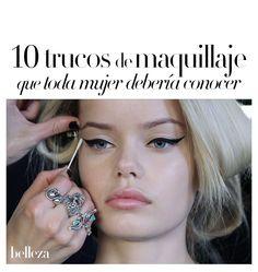 10 trucos de maquillaje que toda mujer debería conocer