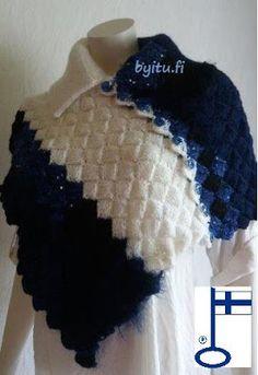 by itu: Hyvää nimipäivää Sari poncho - design by itu