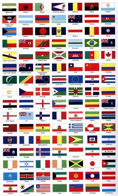 flags for the world