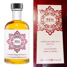 NEW REN Skincare Moroccan Rose Otto Bath Oil, 4.08 Fl Oz / 121 Ml, $48  | eBay