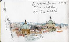 Milan the Dome. Gargoyles, saints and the city