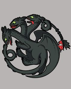 Toothless Targaryen T-Shirt $10 Game of Thrones tee at ShirtPunch today only!