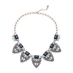 Occident alloy  necklace   NHQD0251