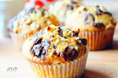 Muffins de Nigella Lawson aux pépites de chocolat