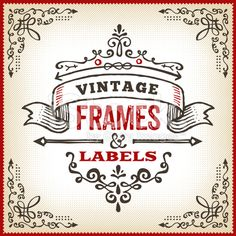 Hand Drawn Vintage Label royalty-free stock vector art