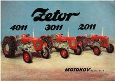 Zetor Tractor 2011 3011 4011 Brochure