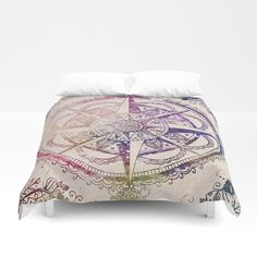 Voyager II Duvet Cover by Jenndalyn - Queen: x