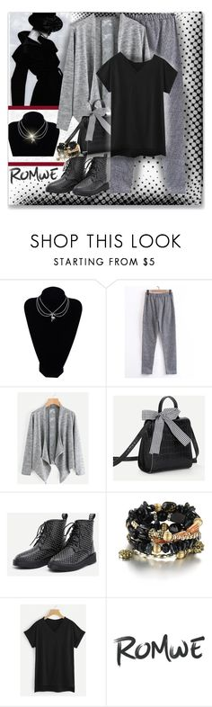 """www.romwe.com-LI-3"" by ane-twist ❤ liked on Polyvore featuring Giorgio Armani and romwe"