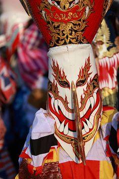 Phi Ta Khon mask festival in Loei