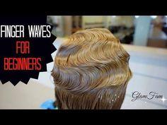 How to do Fingerwaves for Beginners - YouTube