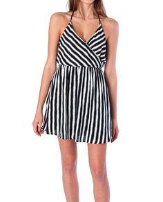 Stripe Magnetism Dress