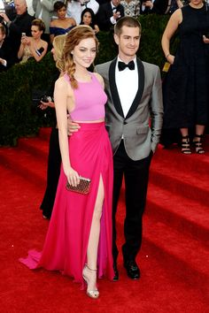Emma Stone and Andrew Garfield, Met Gala 2014 - Everyone's favorite couple, looking fab
