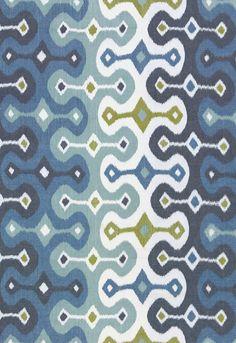Love this Martyn Lawrence Bullard (Schumacher) fabric