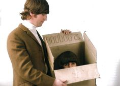 "The Lost Beatles Film Still from the lost Beatles movie, ""Ringo's Head in a Box""(1966). Ringo: I can't play me drums anymore, I'm only a head in a box. John: S'what you get for arsking for more than ten shillings a week, i'nt it?"