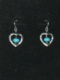 Hearts and turquoise