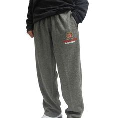 #LacrosseUnlimited Maryland Lacrosse Sweatpants. #lax #NCAA #maryland