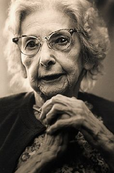 Grand Lady  Environmental portrait of senior woman live in assisted care