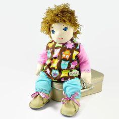 Hand Made Rag Doll, Cloth Baby Doll