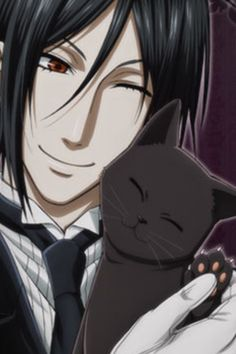 lol, Sebby the cat lover