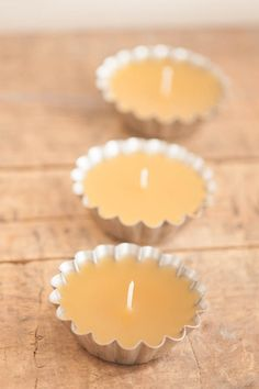 #DIY Beeswax candles.