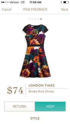 London Times Bridie Knit Dress. I love Stitch Fix! A personalized styling service and it's amazing!! Simply fill out a style profile with sizing and preferences. Then your very own stylist selects 5 pieces to send to you to try out at home. Keep what you love and return what you don't. Only a $20 fee which is also applied to anything you keep. Plus, if you keep all 5 pieces you get 25% off! Free shipping both ways. Schedule your first fix using the link below! #stitchfix @stitchfix…