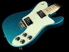 Fender Special Edition FSR Classic Series '72 Telecaster Deluxe Electric Guitar Aqua Flake