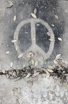 ☮ American Hippie Art ☮  Peace Sign ..