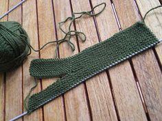 tricot facile gants tricots au point mousse 2 aiguilles pour adultes