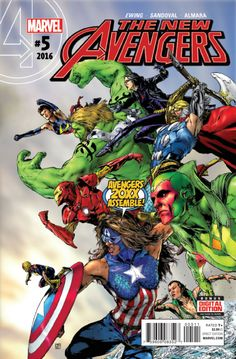 "superheroesincolor: "" New Avengers Vol 4 // Marvel Comics Captain America! Together, they are the Avengers – of the year Story: Al. Marvel Avengers, Avengers 2015, Marvel Comics, Arte Dc Comics, Marvel Heroes, Captain Marvel, Captain America, Avengers Images, Marvel Comic Character"