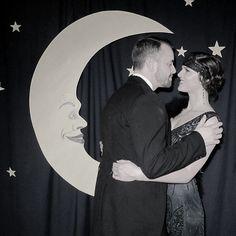 Roaring Twenties Party: I like the photobooth idea.
