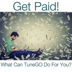 You should be getting paid for your music! TuneGO will give you all the tools to get the you the money you deserve! Link in bio to get started on our FREE app!