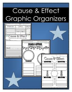 Students identify cause and effect relationships in text and record on a graphic organizer.