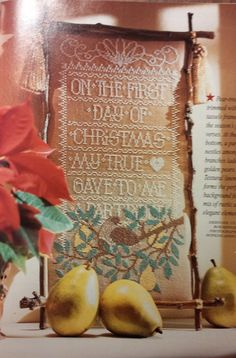 40 Dazzling Projects, Heirloom Treasurers for Your Home, Fun Festive Jewelry, Linen Sampler, Quick and Easy Gifts, Trim the Tree, Deck the Halls.