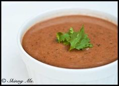 Tangy Coconut Black Bean Soup for Slowcooker --- Sounds good with regular milk. Love coconut in sweet things, not this.