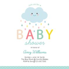 Boy baby shower free printables babies shower invitations and shower cloud free printable baby shower invitation template greetings island filmwisefo Images
