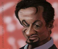 #sylvesterstallone #caricature #karikatur #karikaturindonesia #digitalpainting