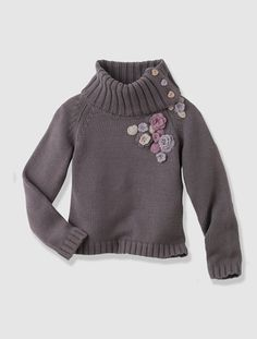 Sweater GREY DARK SOLID WITH DESIGN+PINK LIGHT SOLID WITH DESIGN+RED MEDIUM SOLID WITH DESIG - vertbaudet enfant