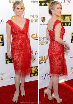 b1614bd66 Looks no tapete vermelho do Critics' Choice Movie Awards 2014 - Moda &  Feminices