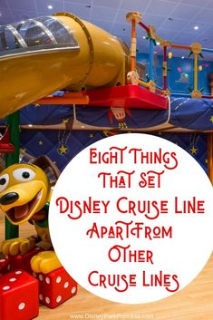 Disney Cruise Line is unique in the cruise industry for many reasons! Learn the top 8 things that set DCL apart. #disneycruise #disneycruiseline #dcl #cruising #travel #familytravel