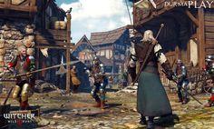 http://sanalsaray.com/2015/04/06/the-witcher-3-oynanis-sresinin-ka-saat-olacagini-hi-dsndnz-m/  Polonya'da 2002 yılında kurularak, oyun dünyasına oyuncularla 2007 yılında buluşturduğu ünlü The Witcher serisi ile başlayan ünlü video oyun geliştirme şirketi CD Project RED tarafından Red Engine 3 oyun motoru üzerinde geliştirilen ve Microsoft Windows PC, XB1 ve PS4 platformlarında Namco Bandai Games tarafından Avrupa Bölgesi, Warner Bros  Interactive Enter