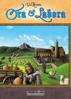 """Ora et Labora El nuevo juego de Uwe Rosenber, diseñador del """"Agricola"""". Uno de los juegos más esperados del 2012."""